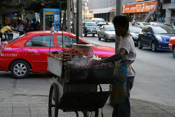 уличный лоток, Таиланд