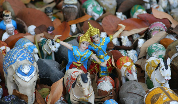 фигурки духов, Таиланд
