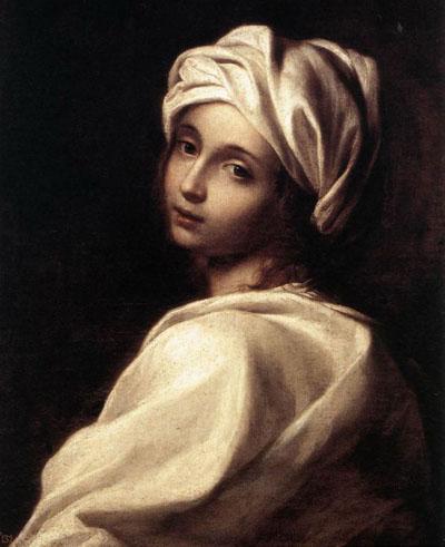Портрет Беатриче Ченчи, написанный Элизабеттой Сирани