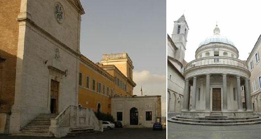 Сан-Пьетро-ин-Монторио и часовня-ротонда Темпьетто