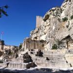Руины замка де Бо