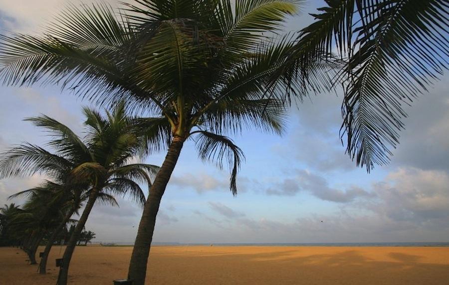 пляж Негомбо, Шри-Ланка