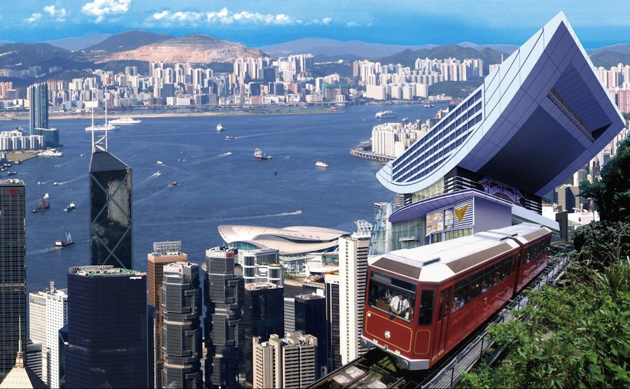 пик Виктории, Гонконг