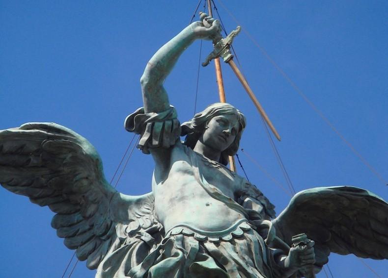 Рим скульптура святой в оргазме