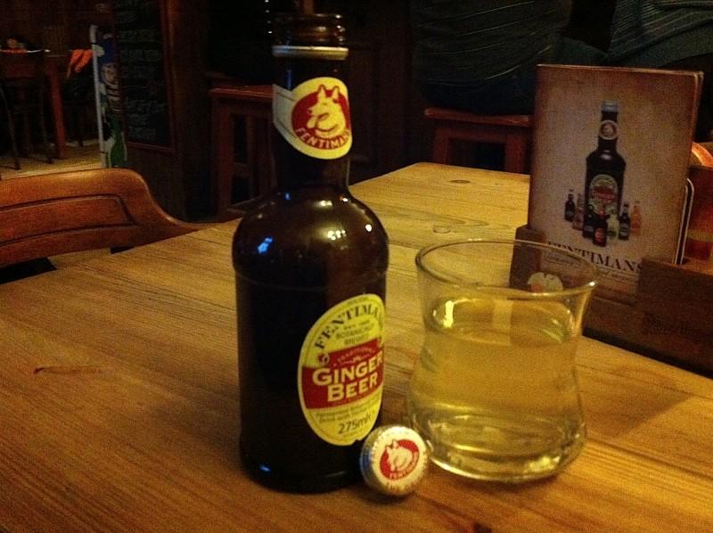 Имбирное пиво прага