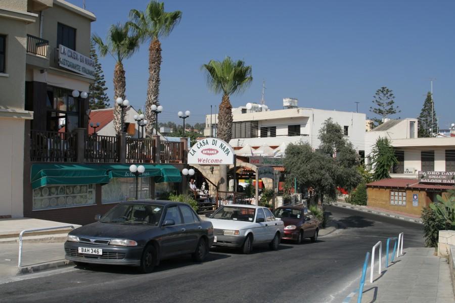 Кипр, улочка Айа-Напы
