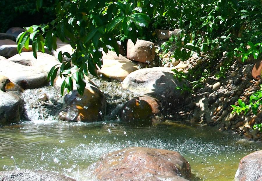 бассейн, термальные источники, Хайнань, Китай