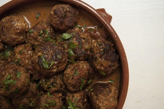 мясные шарики, венгерское блюдо