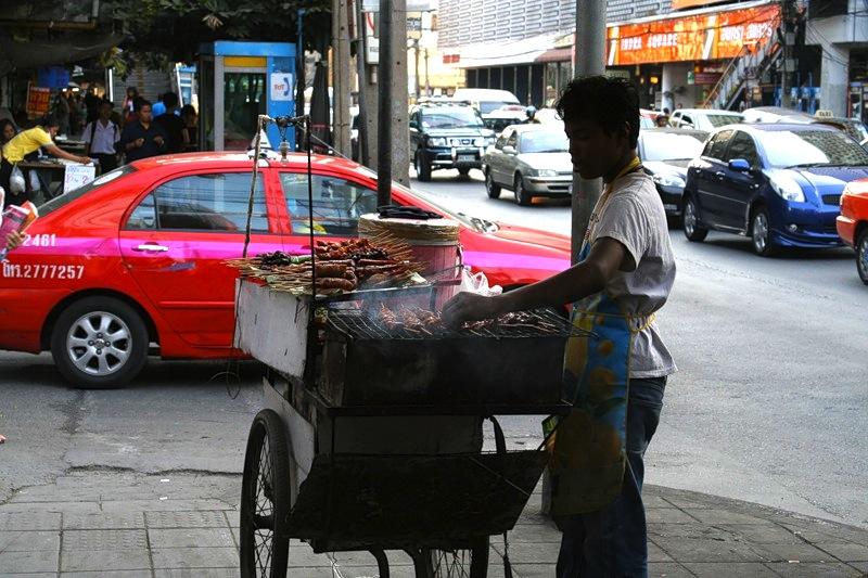 торговец уличной едой, Бангкок