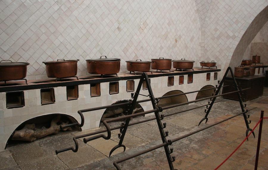 кухня в королевском дворце