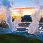 Пять знаменитых гейзеров: фото и видео