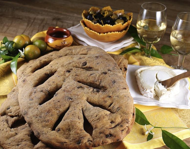 хлеб fougasse