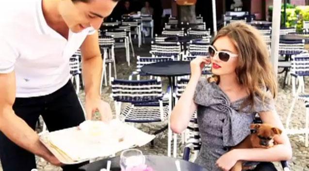 diorfashion film Love in Portofino