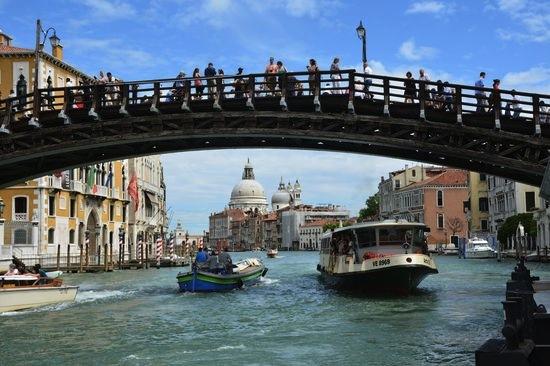 мост Академии, Венеция