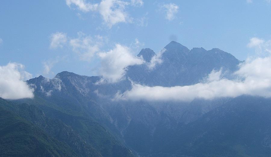 горы на Халкидиках