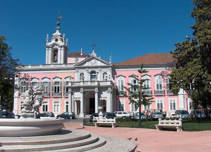 """национальный """"розовый"""" дворец Белена"""