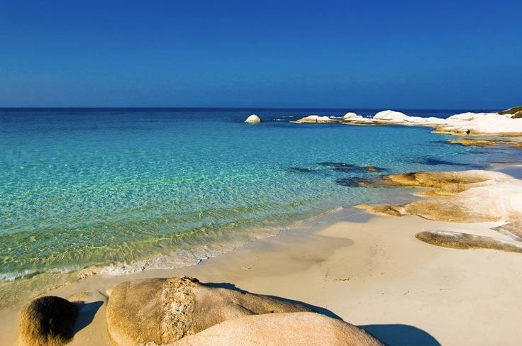 Халкидики, пляж