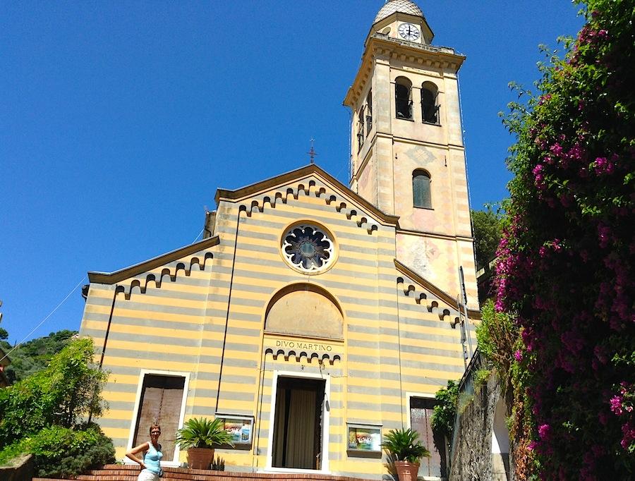 церковь Святого Мартина в Портофино