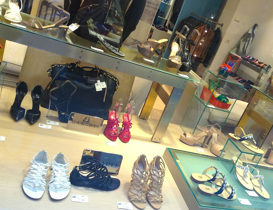 Обувной бутик в Венеции