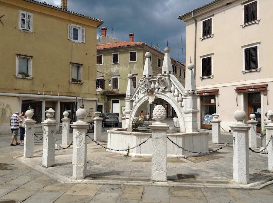 фонтан в Копере
