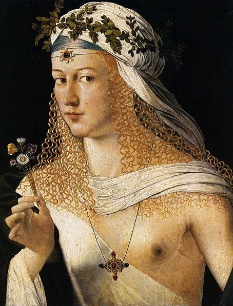 "картина ""Флора"" кисти Бартоломео Венето"