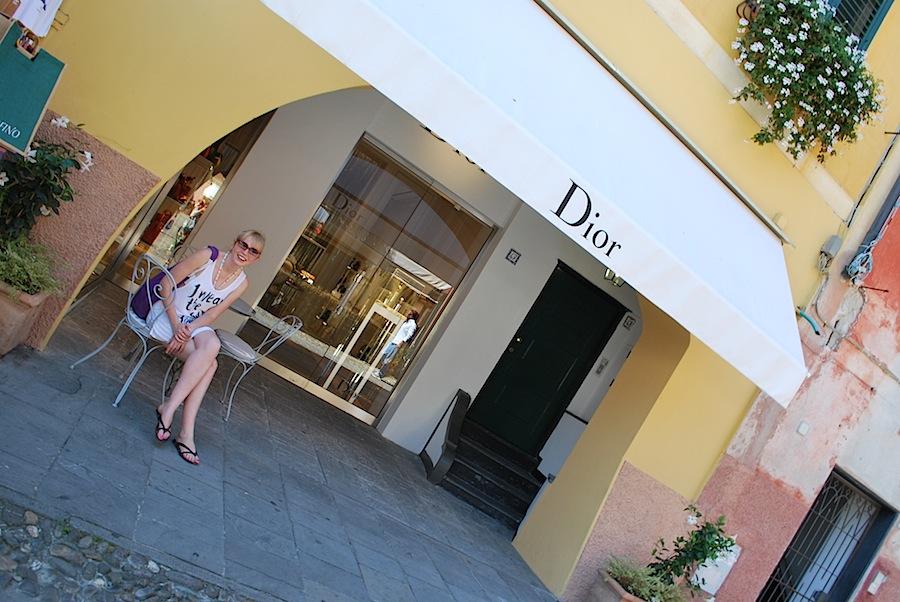 бутик Dior в Портофино