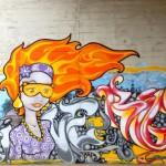 Граффити в Риге: фото