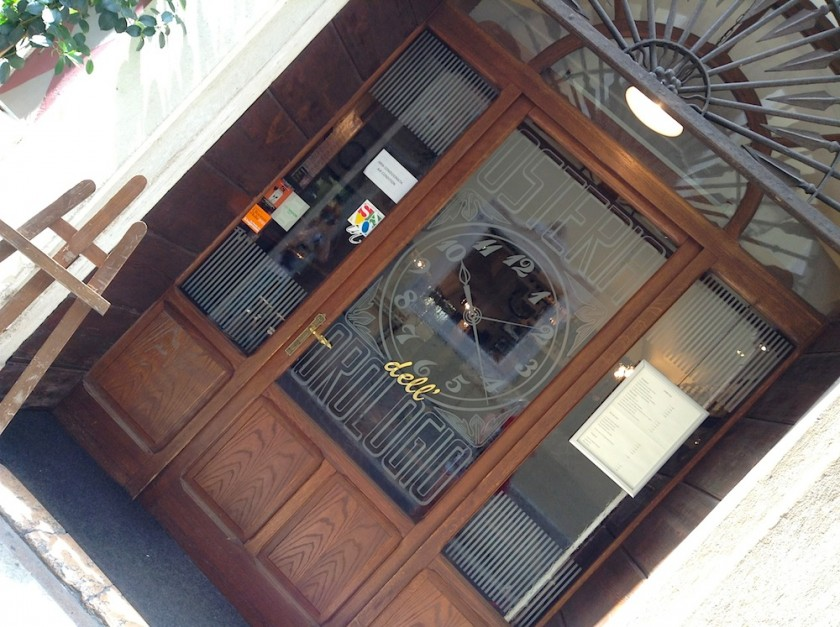 часовой магазинчик в городе Сало