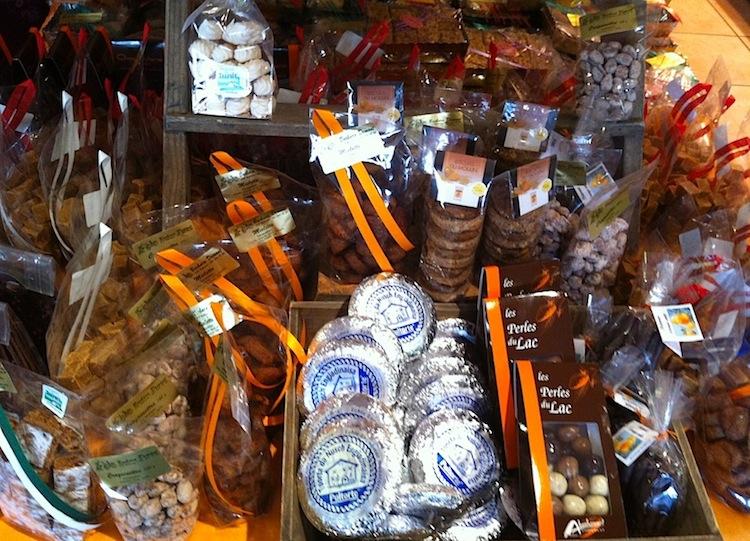 сырная лавка в Лозанне