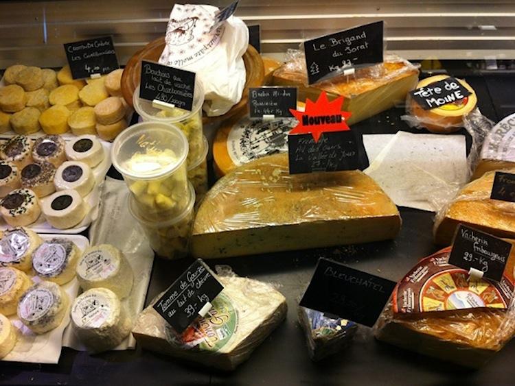магазин Au Paradis du Fromage, Швейцария, швейцарский сыр
