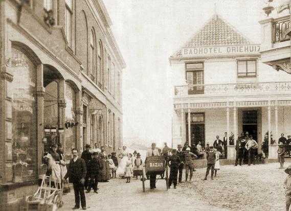 старинный снимок Зандвоорта