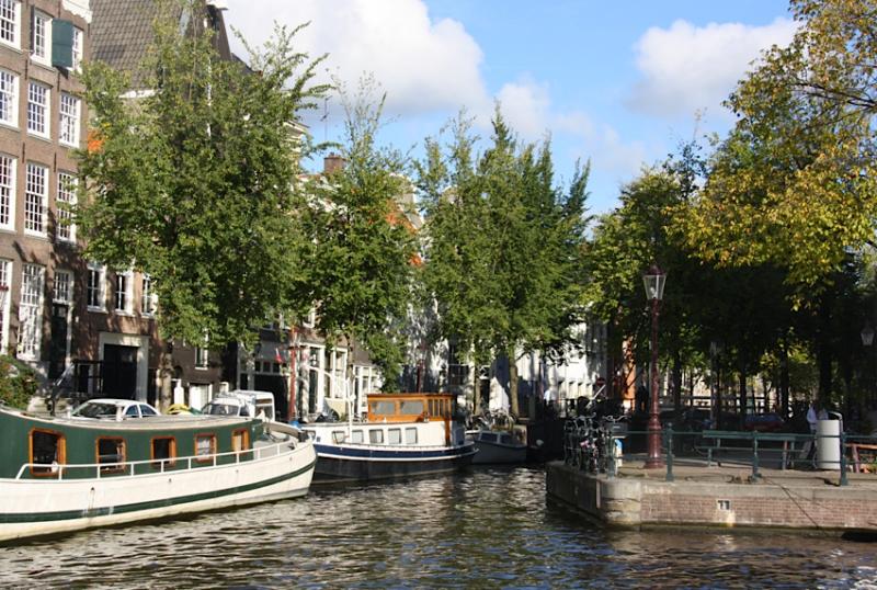набережная Амстердама, октябрь