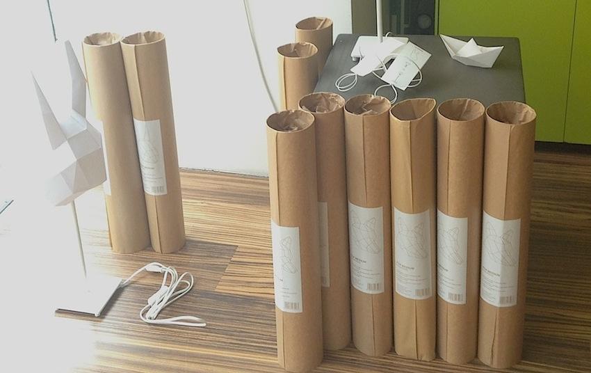 тубусы для транспортировки абажуров