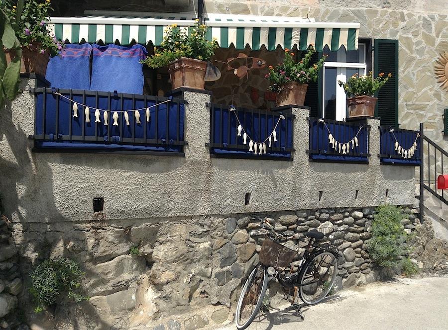 рыбный ресторан в Лигурии