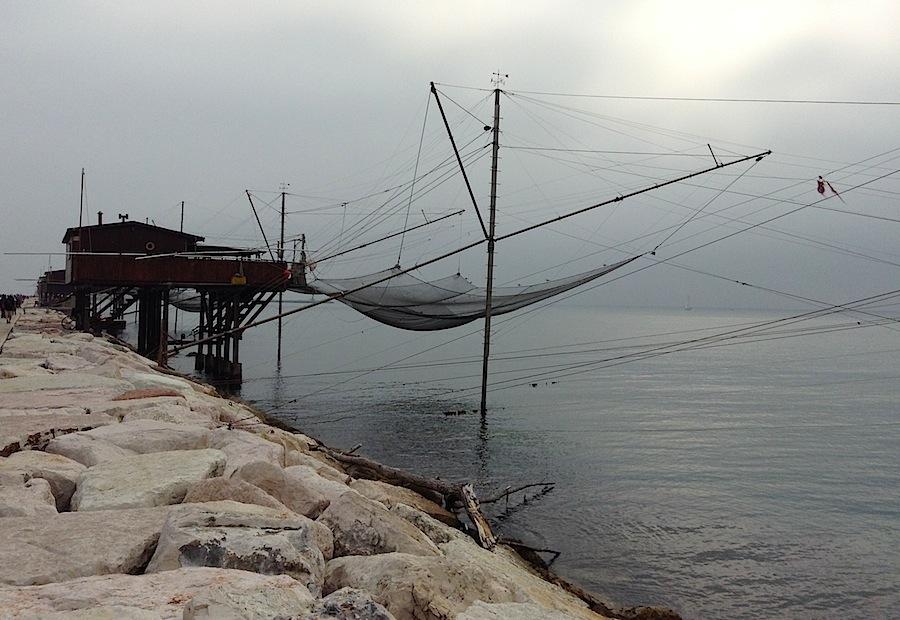 рыболовецкие домики на набережной Дига (Соттомарина)