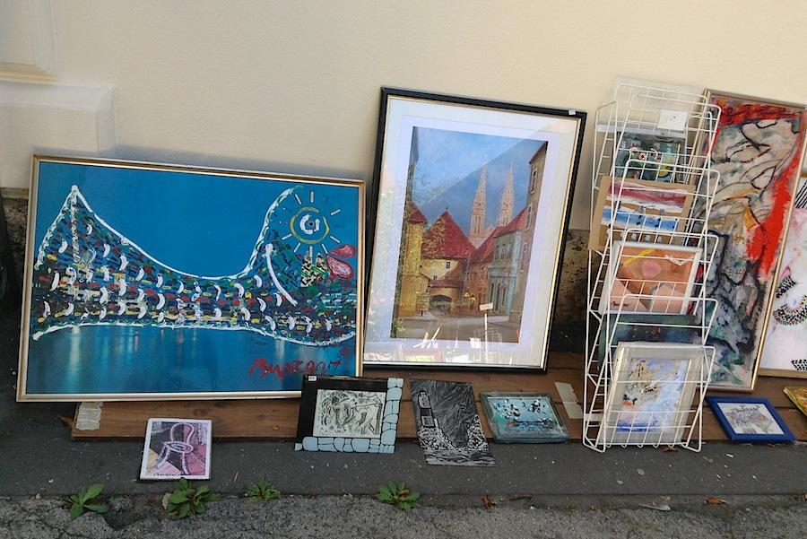 картины, продающиеся близ смотровой площадки