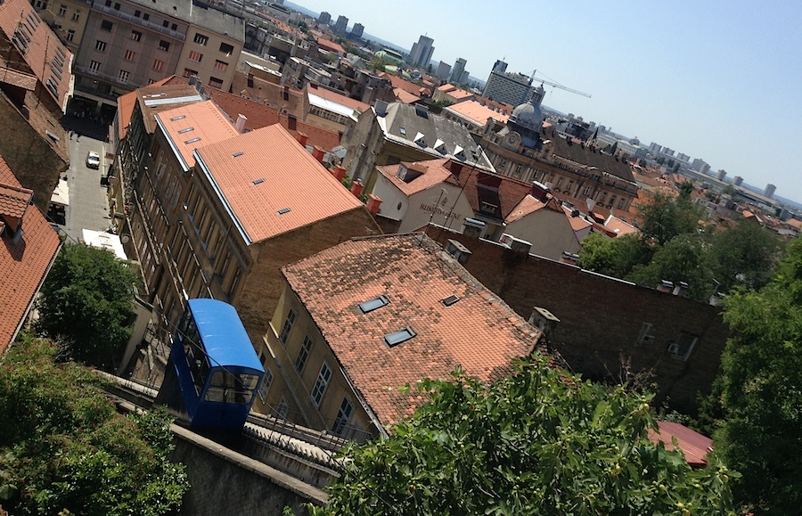 Фуникулер Загреба
