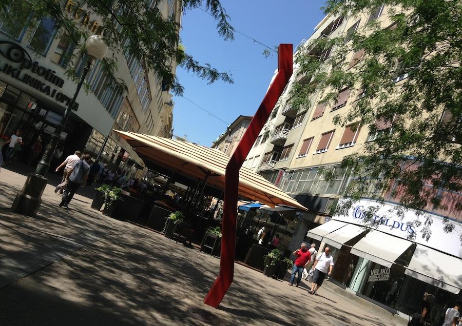 Современное искусство на Ulica Ljudevita Gaja