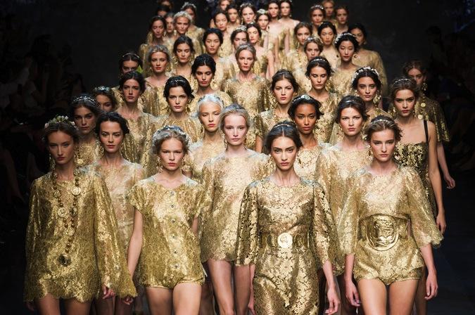 показ Dolce&Gabbana, весна-лето 2014