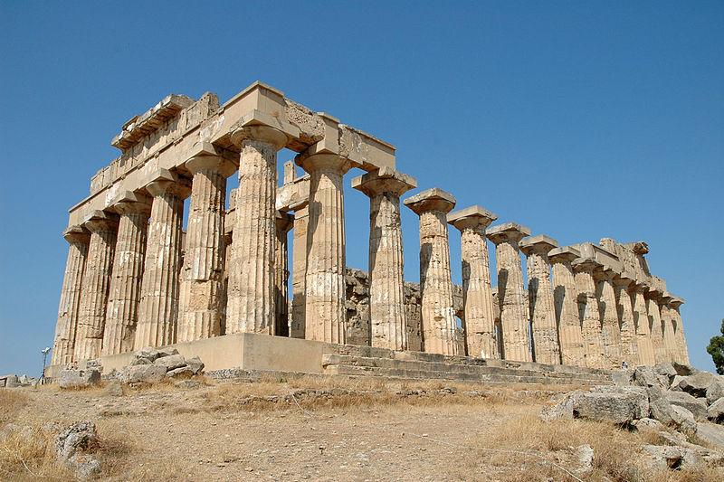 храм богини Геры на Сицилии
