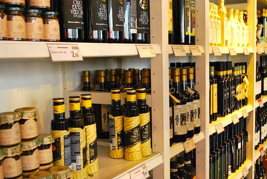 оливковое масло Лигурии