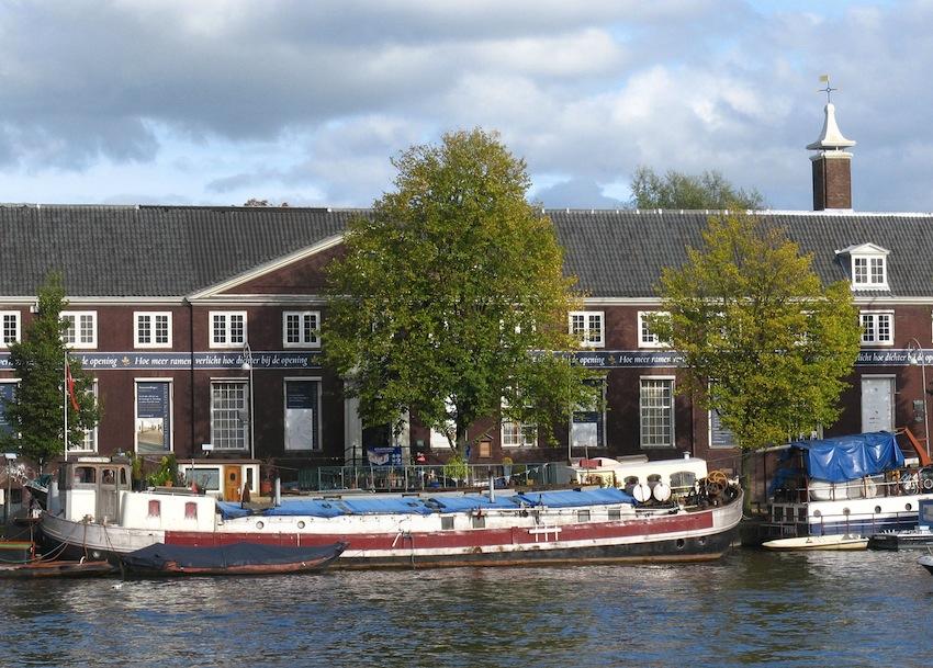 Амстел в старом здании Амстелхоф, Hermitage_amsterdam_panorama