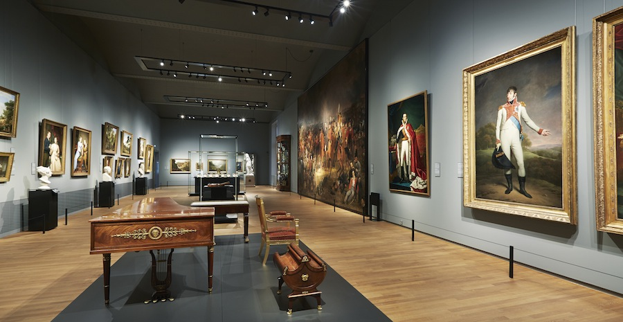 зал музея Rijksmuseum, Амстердам