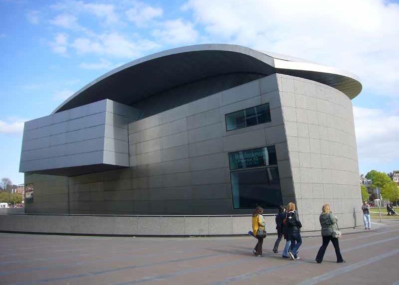 здание музея Ван Гога, Амстердам