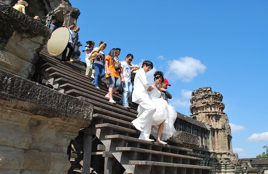 свадьба в Ангкор-Вате