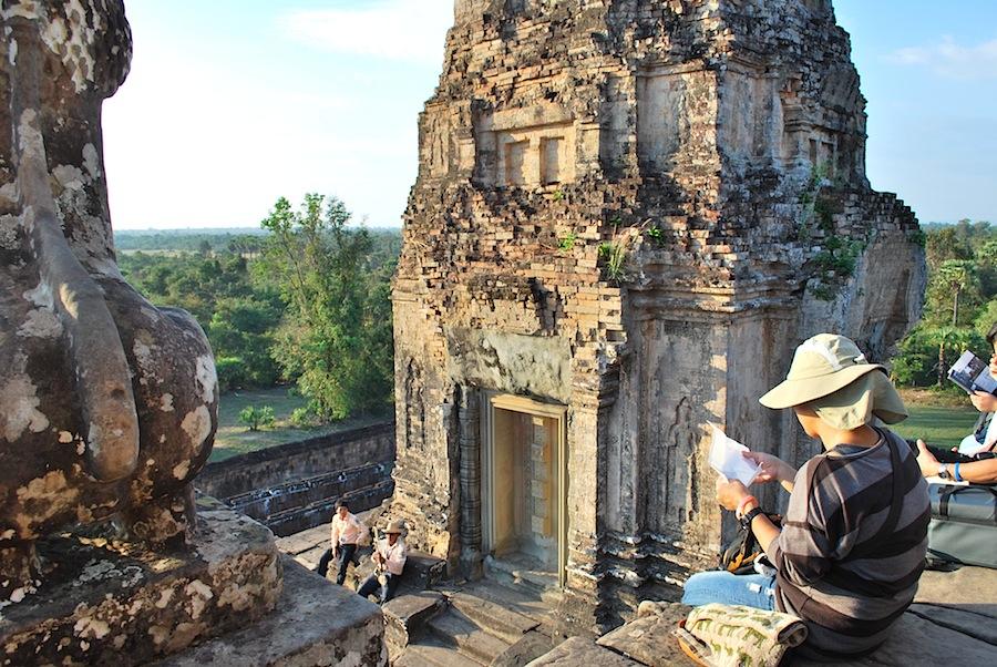 вершина храма в Ангкоре
