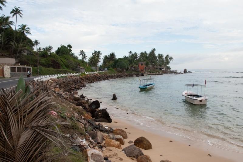 рыбацкие лодки на Шри-Ланке