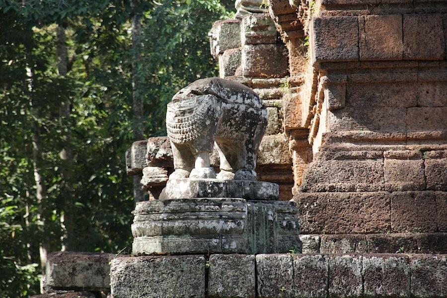 скульптура в Преах Кхана
