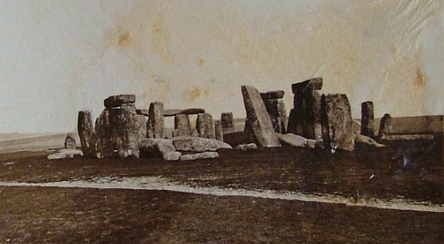 Стоунхендж до реконструкции, 1877 год