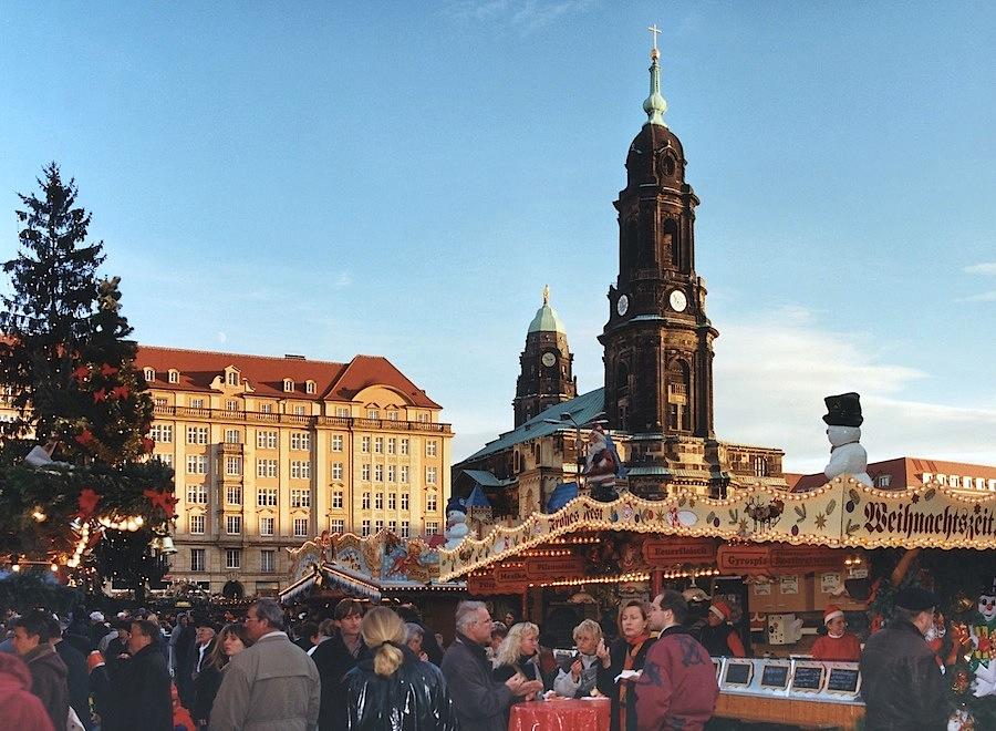 ярмарка в Дрездене
